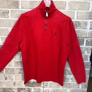 NWT Polo by Ralph Lauren Red Sweater Size M